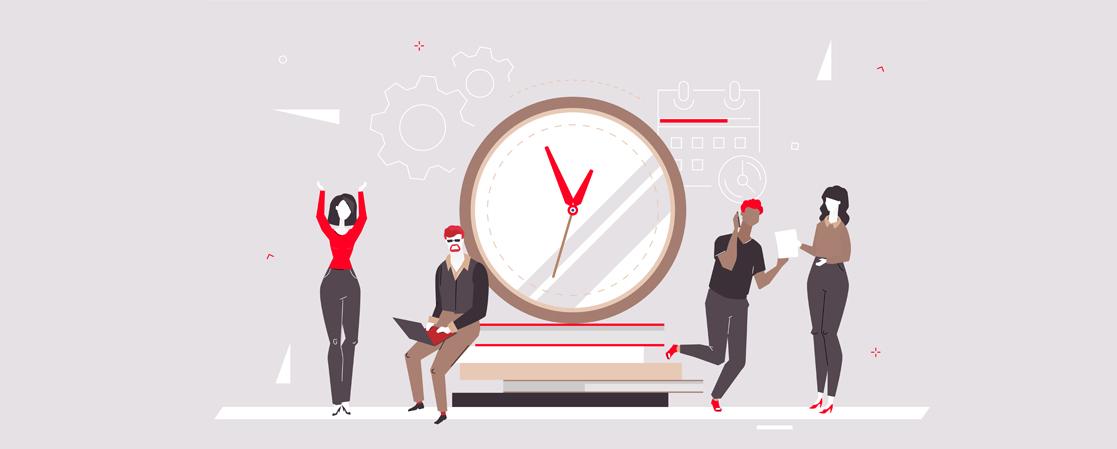 Timeregistrering vendt på hovedet