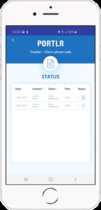 Portlr Call logger til Android og IOS