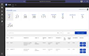 Portlr app i Microsoft Teams