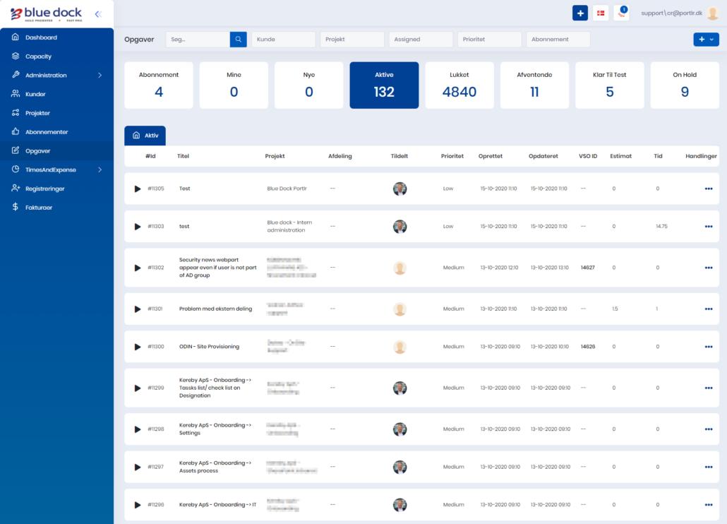 Portlr servicedesk